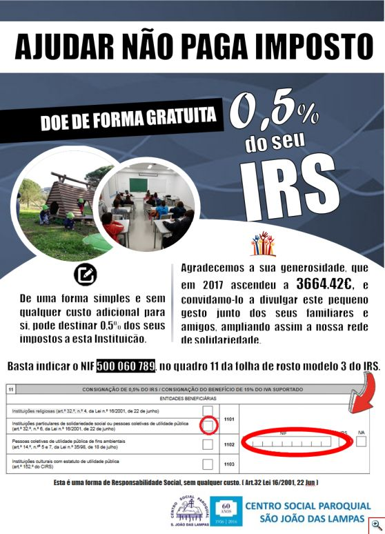 consignacao do irs